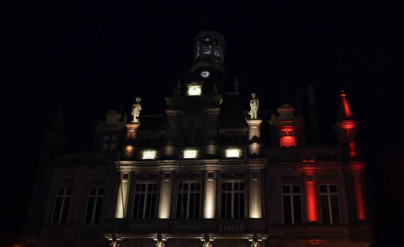mairie aux couleurs belges
